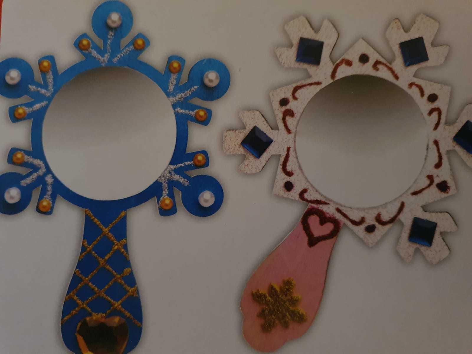 Schilder jouw allermooiste Steen en maak je allermooiste spiegel!
