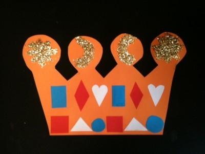 Maak jouw eigen kroontje voor Koningsdag!